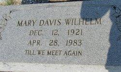 Mary <I>Davis</I> Wilhelm