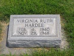 Virginia Ruth Hardee