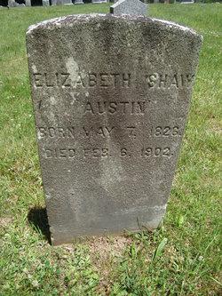 Elizabeth <I>Shaw</I> Austin