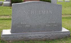 Bessie <I>Kaufman</I> Schulman