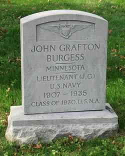 "LTJG John Grafton ""Burgh"" Burgess"