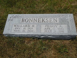 Willard H Bonneksen