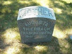 Augusta <I>Thierbach</I> Franckenberg