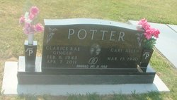 """Clarice Rae """"Ginger"""" Potter"""