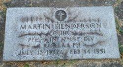 PFC Martin Henderson