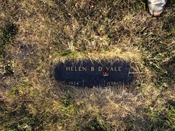 Helen Bertha Doris <I>Hughes</I> Vale