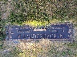 Hildreth M Lauderback