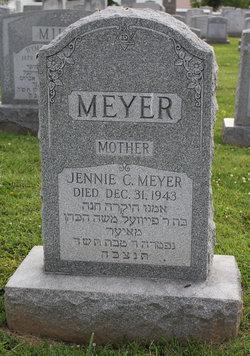 Jennie Corrine <I>Cohen</I> Meyer