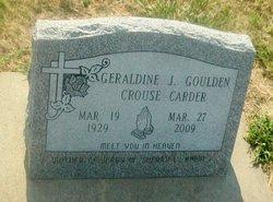 Geraldine J <I>Goulden</I> Carder