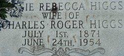 Jessie Rebecca <I>Moore</I> Higgs