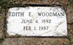 Edith E Woodman