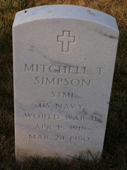 Mitchell T Simpson