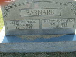 Nancy <I>Wakefield</I> Barnard