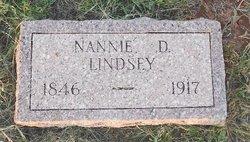 Nancy Isabella <I>Donald</I> Lindsey