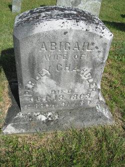 Abigail <I>Aldrich</I> Chandler