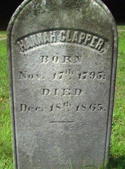"""Anna Maria """"Hannah"""" <I>Cooper</I> Clapper"""