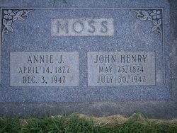 Annie <I>Johnson</I> Moss