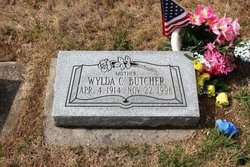 Wylda Billie <I>Duncan</I> Butcher