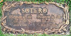 "Antonio Mercado ""Tony"" Sotero, Jr"
