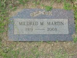Mildred M Martin