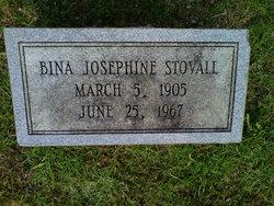 "Bina Josephine ""Jo"" <I>Norris</I> Stovall"