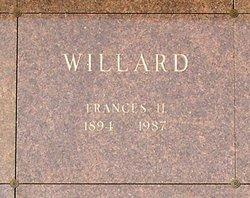 Frances Harriet <I>Kramer</I> Willard