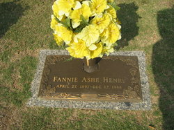 Fannie Ashe Henry