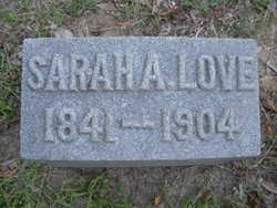 Sarah Adaline <I>Morton</I> Love