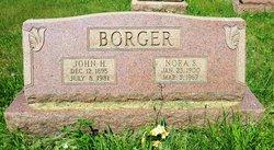 Nora S <I>Daneker</I> Borger