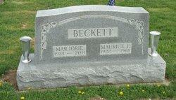 Marjorie <I>Pribble</I> Beckett