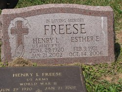 Henry L Freese