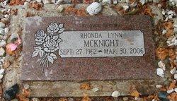 Rhonda L <I>Morgan</I> McKnight