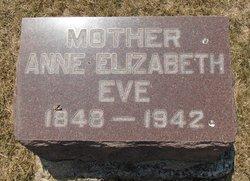 Anne Elizabeth <I>Bishop</I> Eve