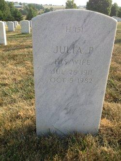 Julia P Aldridge