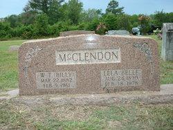 Lela Belle <I>Capps</I> McClendon