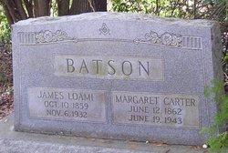 Margaret <I>Carter</I> Batson