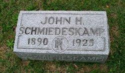 John H Schmiedeskamp