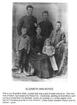 Elizabeth Ann <I>Moyes</I> Gale