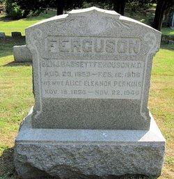 Dr Benjamin Bassett Ferguson