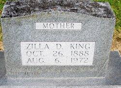 Zilla Maria <I>Davis</I> King