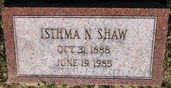 Isthma Nora <I>Yerks</I> Shaw