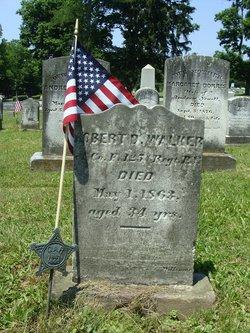 Pvt Robert D Walker
