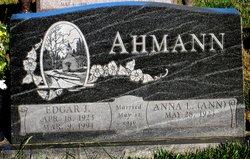 Edgar J Ahmann
