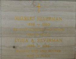 Lydia A <I>Apodaca</I> Silverman