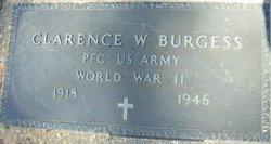 Clarence W Burgess
