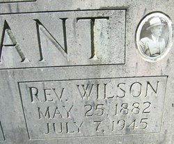 Rev Wilson Bradshaw Bryant