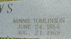 Minnie Belle <I>Tomlinson</I> Laws