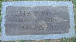 Lela <I>Watson</I> Price