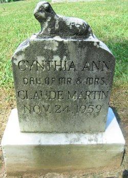 Cynthia Ann Martin