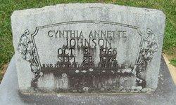 Cynthia Annette Johnson
